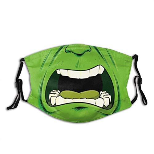 Everything Will Be OK Unisex Nase Mund Staubschutz Hul-k Verstellbare Gesichtsdekorationen Bandana-1PCS-