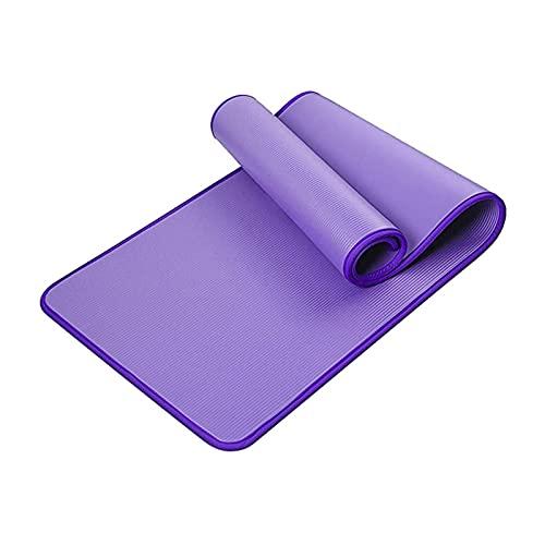 TYUTYU Mat de Yoga Fitness Fitness Mat de Antideslizante con Bolsa de Transporte Extra Gruesa, Estera Deportiva a Prueba de Agua para Yoga, Herramienta de Ejercicios para el hogar, Accesorios de Yoga