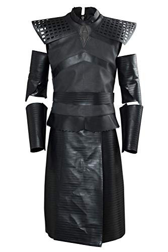 cultofmoon Conjunto completo de disfraz para hombre de la serie de televisión de la noche del rey cosplay de carnaval