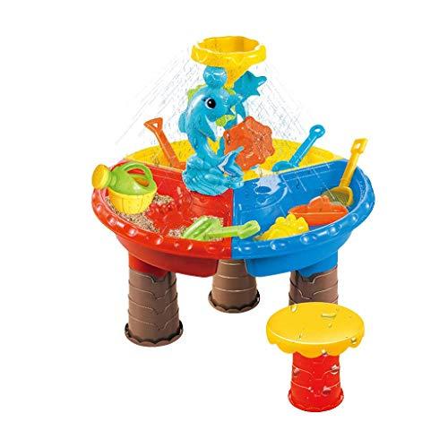 Sand spielt spielzeug strand werkzeuge, kinder baby sommer spaß wasser sand und wassertisch garten sandkasten set kinder mit sheorer shovels fleisch wässerung can castle for thter feiertag spaß spielz
