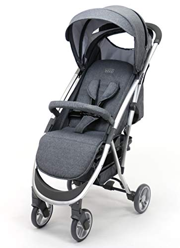 Asalvo Kinderwagen Cotton, Grau