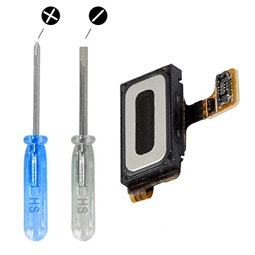 MMOBIEL Hörmuschel kompatibel mit Samsung Galaxy S7 G930 Series Lautsprecher Earphone Earpiecemit 2 x Schraubenzieher