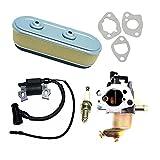 HCO-YU Accesorios de reemplazo de carburador de carburador de Bobina para GXV160 GXV 160 GXV120 GXV140 5.5 HP HRA216 HRC216 Motor Bobina Módulo