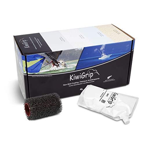 KiwiGrip Non-Skid Deck System, White, 1 Liter, KG10111R