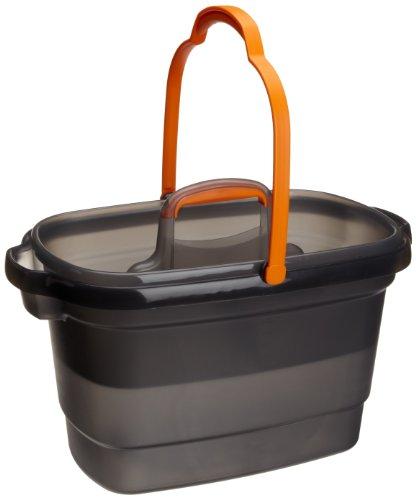 Casabella, 4-Gallon Bucket Graphite and Orange