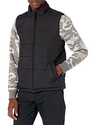 Amazon Essentials Heavy-Weight Puffer down-outerwear-vests, schwarz, US M (EU M)
