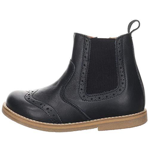 Froddo Ivancica d.d. Mädchen Chelsea Boots Chelys Stiefelette Leder- glatt/genar blau Gr. 30