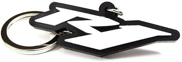 SBR Yamaha YZF R1 YZF-R1 YZFR1 Key Chain Fob Ring Logo Emblem White