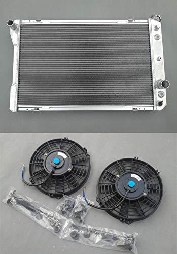 Radiador de aluminio Firebird/Trans Am 1970-1981 1971 1972 1973 1974 + ventiladores