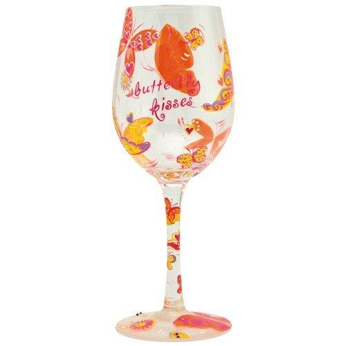 Lolita Verre à vin Motif Butterfly Kisses