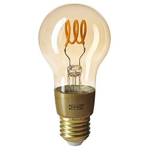 IKEA TRADFRI LED Leuchtmittel E27; 250lm; dimmbar; rund; braun; A++