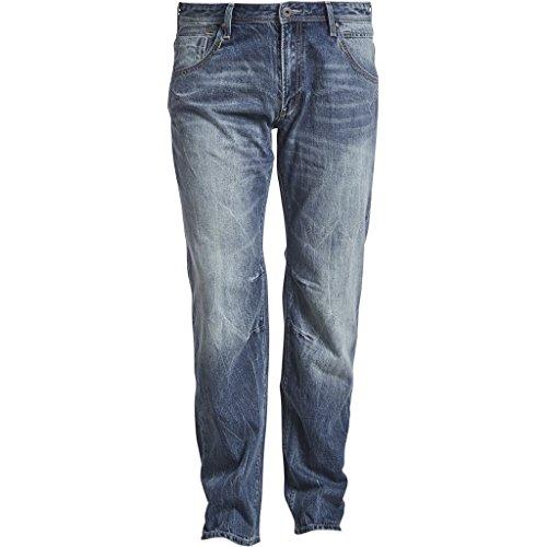 Jeans von Replika mit Blauer Waschung, INCH Größen:56 Inch
