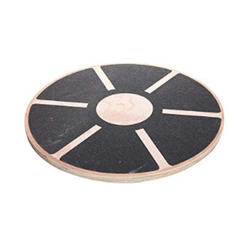 Discover Bargain JIANGXIUQIN Balance Board Non-Slip Wooden Balance Board Highly Difficult Rehabilita...