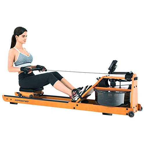GOROWINGO Water Rowing Machine