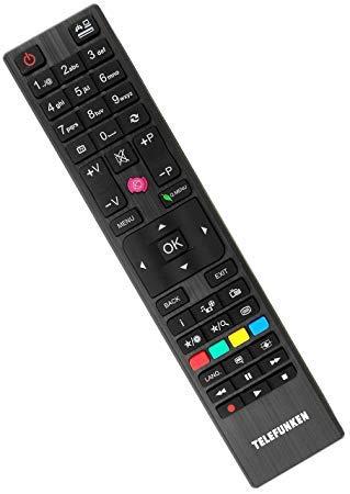 Originale RC4876 / 30088184 telecomando TV specifico per Telefunken modelli TV