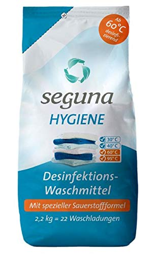 SEGUNA Hygiene Desinfektions-Waschmittel, 2,2 kg