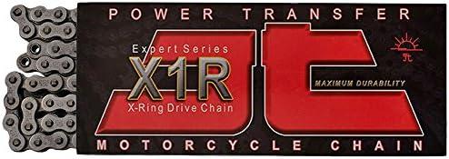 JT Sprockets Black Steel JTC520X1R2094DL Max 49% Complete Free Shipping OFF Duty 94-Link Heavy X-Ri