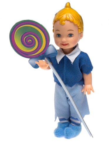 barbie TOMMY LOLLIPOP MUNCHKIN - petit garçon poupée - edition magicien d'oz - the wizard of oz - mattel 1999