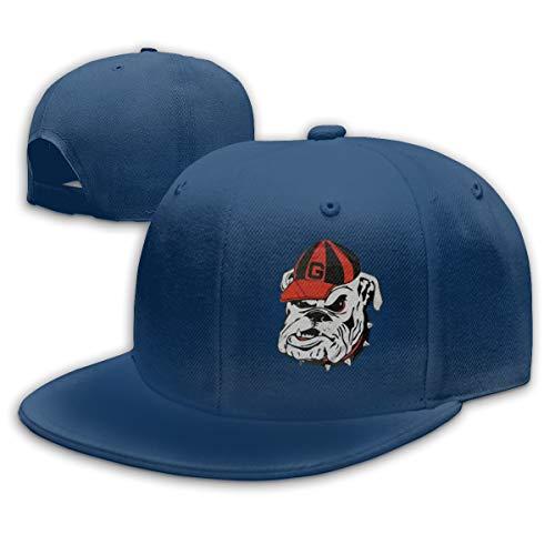georgia bulldog flat bill hat - 4