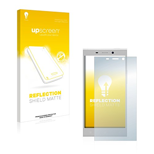upscreen Entspiegelungs-Schutzfolie kompatibel mit Gionee Elife E8 – Anti-Reflex Bildschirmschutz-Folie Matt