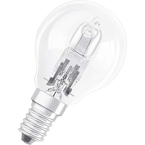 Osram Classic P Halogen-Lampe, E14-Sockel, dimmbar, 30 Watt - Ersatz für 40 Watt, Warmweiß - 2700K