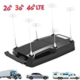 Amazboost Cell Phone Booster for Truck Car Vehicle and RV,4G 3G 2G LTE Cell Phone Booster Kit for Verizon, AT&T, T-Mobile, Sprint(A-M1)