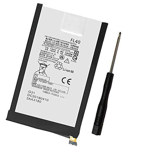 Powerforlaptop Replace FL40 Battery Compatible Motorola Droid Maxx 2 XT1565, Moto X Play 3A Dual XT1543 XT1544, Moto X Play XT1562 XT1563 SNN5963A Tools kit