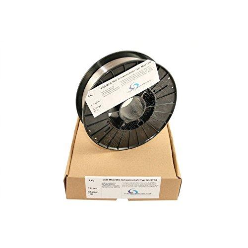 Schweißdraht MIG Aluminium ALMG-5-1,0 mm Spule - D200-3.3556 - 2,0 Kg