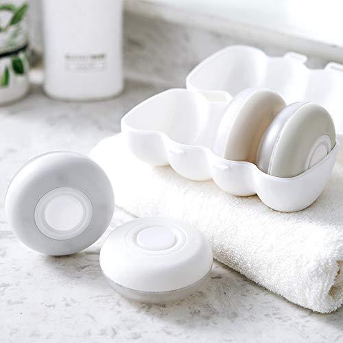 Tuzi Qiuge Unverfälschte for Carry-on, Worthy for Reisen, PP Wesentliche, Subpackage Flaschen 3 Richtige tragbaren Reise verputzt Shampoo Duschgel Kosmetik Container