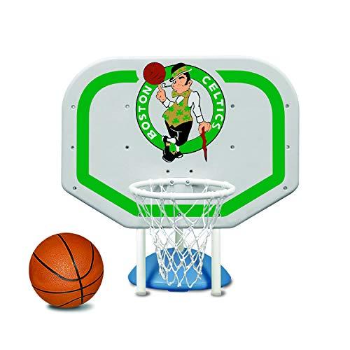 Poolmaster 72933 Boston Celtics NBA Pro Rebounder-Style Poolside Basketball Game