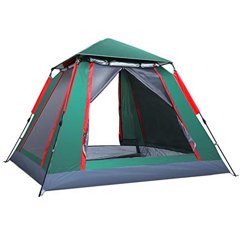AISHANG Tente de randonnée et de Camping compacte Ultra légère Tente extérieure Double Couche imperméable Coupe-Vent (Tente 3-4 Personnes), Installation Facile, idéale pour Le Camping, la randonnée