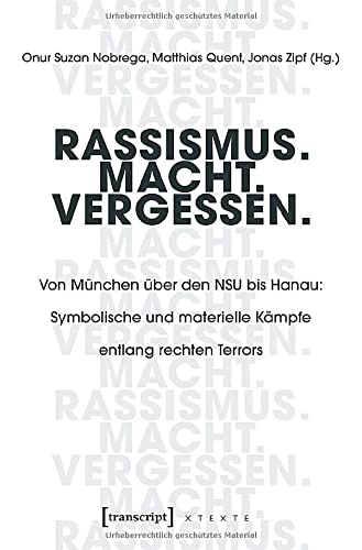 Rassismus. Macht. Vergessen.: Von München über den NSU bis Hanau: Symbolische und materielle Kämpfe entlang rechten Terrors
