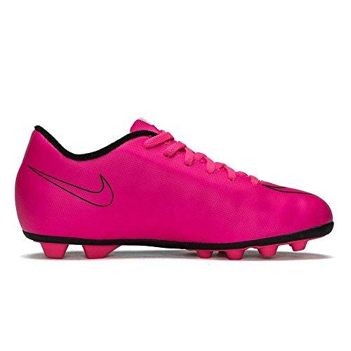 Nike Mercurial Vortex II FG-R Kinder Stiefel, pink/schwarz, Größe 33.5