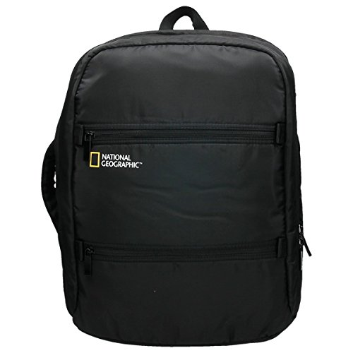 National Geographic Transform - Mochila (43 cm, 20 L), color negro