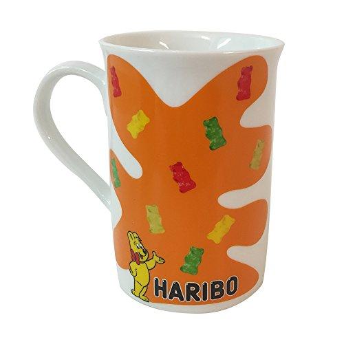 Haribo Becher Kaffeebecher Tasse Keramik Gummibärchen Motiv Fanartikel (1 Stck. Packung)
