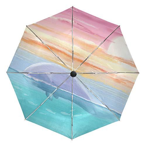 Mr.Lucien 2021001 - Paraguas para cámara de Perro (Resistente al Viento), Color Negro