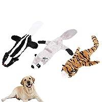 犬の臼歯のおもちゃ、ぬいぐるみのぬいぐるみのおもちゃ、犬がトレーニング猫を演奏するためのサウンドデバイス付きの咬傷耐性