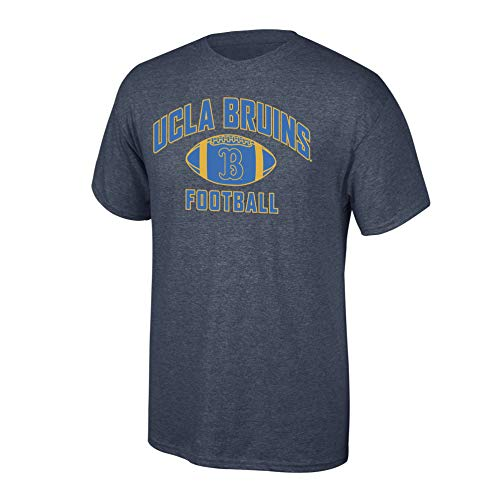 Elite Fan Shop NCAA - Camiseta de fútbol Oscuro Jaspeado