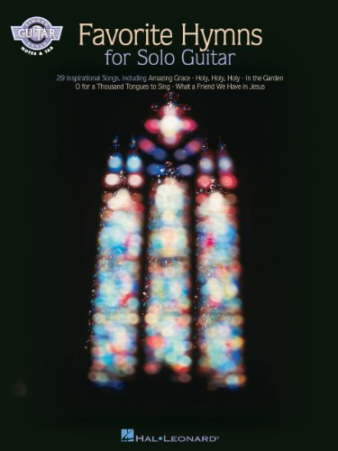 Favorite Hymns for Solo Guitar (Fingerstyle Guitar) (English Edition)