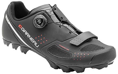 Louis Garneau, Men's Granite 2 Mountain Bike MTB Shoes with BOA Adjustment System, Black, US (12), EU (47)