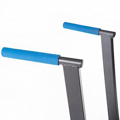 Product Image 5: Fuel Pureformance Bodyweight Training Dip Station Black/Blue