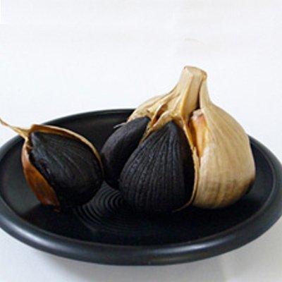 黒にんにく 3玉 青森県産 熟成おいらせ黒にんにく 柏崎青果 贈答品 お取り寄せ