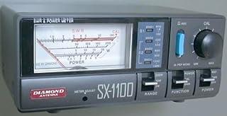 第一電波工業 ダイヤモンド  通過型SWR・パワー計 1.8~1300MHz 2センサー内蔵 SX1100