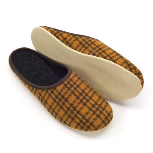 Kamelhaar Pantoffeln 48