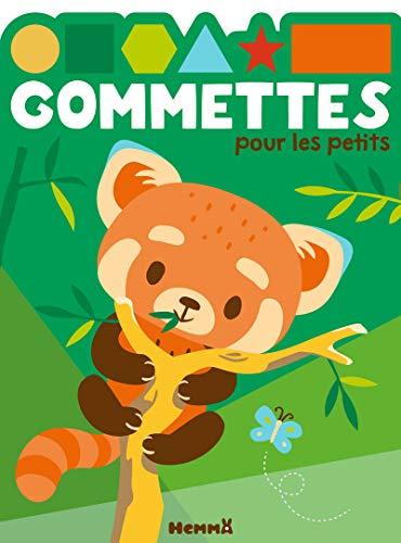 Gommettes pour les petits (Panda roux)