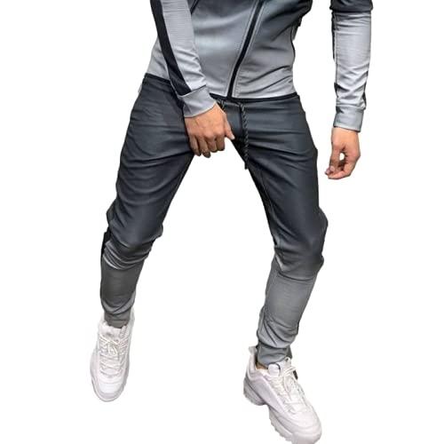 Herrenmode Sporthose Trendy 3D Gradient...