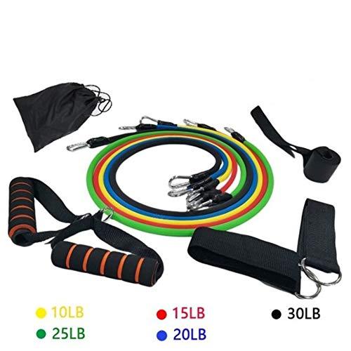 Fitness Yoga Levert Combinatiepakket Weerstand 11 Set Spanband Apparatuur