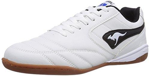 KangaROOS Herren K-Yard 3021 Sneakers, Weiß (White/Black 005), 41 EU