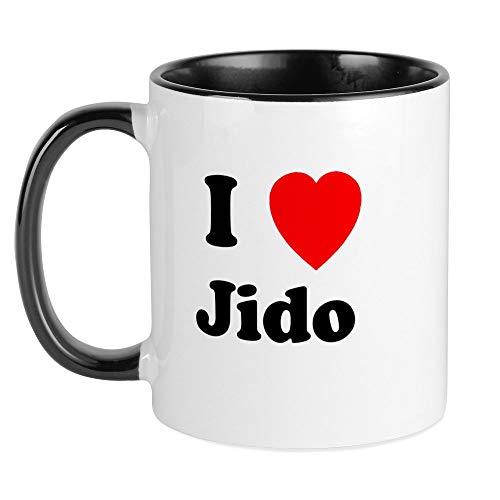 CafePress - I Heart Jido Mug - Einzigartige Kaffeetasse, Kaffeetasse, Teetasse