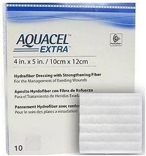 Aquacel Extra Hydrofiber Wound Dressing, Size 4